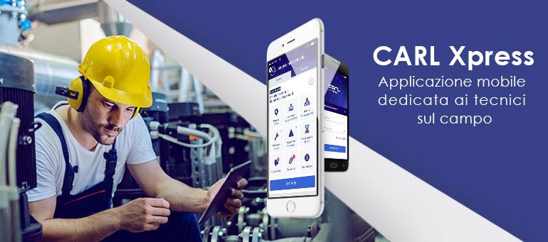 [Seminario Web] Novità CMMS mobile: CARL Xpress !