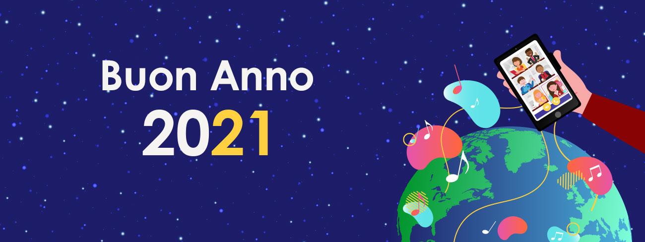 Buon anno 2021 !